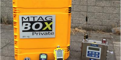 Mobiele gas detectie