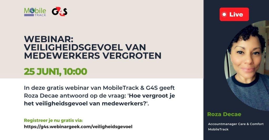 Webinar Veiligheidsgevoel werknemer vergroten - MobileTrack G4S